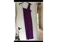 One shoulder prom/formal dress