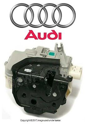 For Audi A3 A6 A8 Quattro 05-13 Front Passenger Right Door Lock Assembly GENUINE