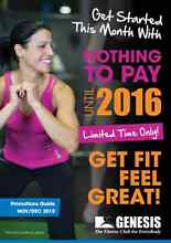 **FREE**  GENESIS FITNESS PAY NOTHING TILL 2016 SPECIAL!!! Thuringowa Central Townsville Surrounds Preview