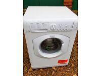 Hotpoint Aquarius Washer Dryer Model WDL756P. 7kg + 4kg. As New Condition.