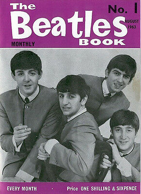 The Beatles Monthly Complete magazine series on CD w/ Extras