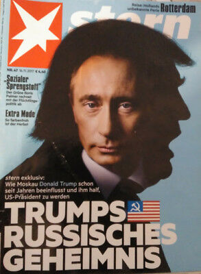 GERMAN STERN MAGAZINE: DONALD TRUMP / KATHRYN BIGELOW / CHARLOTTE GAINSBOURG