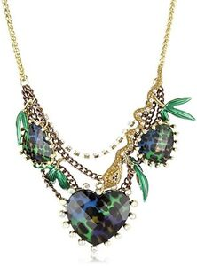 BRAND NEW Betsey Johnson Asian Jungle Necklace + Leopard Earring Kitchener / Waterloo Kitchener Area image 2