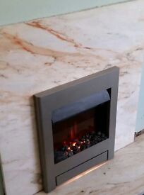 Burley Inset Electric Fireplace £60
