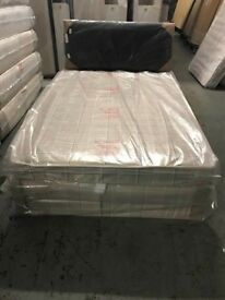 4FT DIVAN BED AND MATTRESS FROM £100