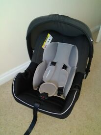 Mothercare Ziba Baby Car Seat - Black - used once