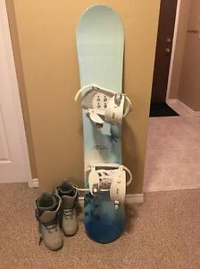 Gently Used Women's Snowboard Package