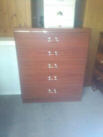 5 drawer modern chest