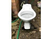 Shires Naiad Whisper Grey Close Couple Toilet Pan