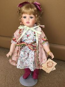 Kingstate The Dollcrafter Roberta Remembers Robin Woods Porcelain doll - Effie
