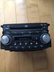 Acura TL Radio 6 Disc Changer CD DVD Player 1TB1 39100-SEP-C000