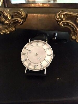 Vacheron Constantin LeCoultre Diamond Mystery Dial 14K White Gold 36 Diamonds