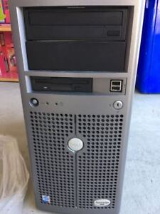 Dell Poweredge server 800 pentium 4 1GB ram No hard disk