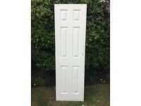 6 panelled internal door