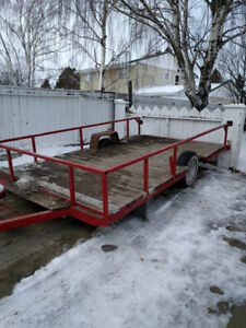 "14ft Utiltiy Trailer ""For Sale"" Or Trade"