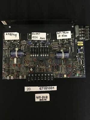 Gerber 67181001 Pcagc2001conveyor Drive Calibrated 20