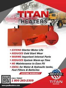 Oil Pan Heater Pads (Titan Heater)
