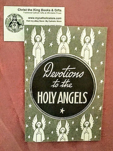 DEVOTIONS TO THE HOLY ANGELS BOOKLET-VINTAGE 1940S PRAYER BOOK-BUY 2 GET 1 FREE!