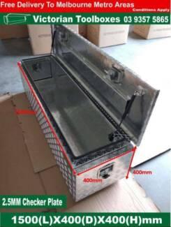 1500x400x400 Aluminium Tool box 3 Doors Ute Truck Storage Camper Campbellfield Hume Area Preview