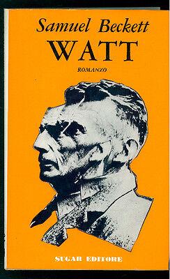 BECKETT SAMUEL WATT SUGAR 1967 I° EDIZ. I GIORNI 18