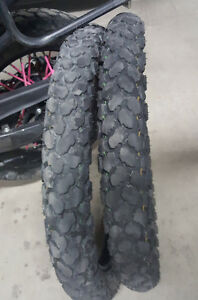 KLR 650 OEM Front Tires - Dunlop K750 90/90-21