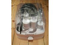 For sale is a Kitchenaid food processor attachments kit.