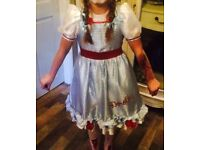 Dorothy dress up costume fancy dress Age 7-8 years