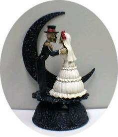 Wedding Cake Topper - Halloween