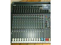 Soundcraft Spirit Folio SX 12 channel mixing desk