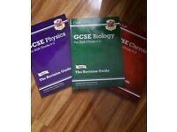 CGP GCSE 9-1 Triple science Revision guides Bundle