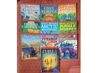 Usbourne puzzle adventure book collection