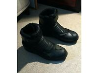 Spada Icon Waterproof Boots Black Size 47