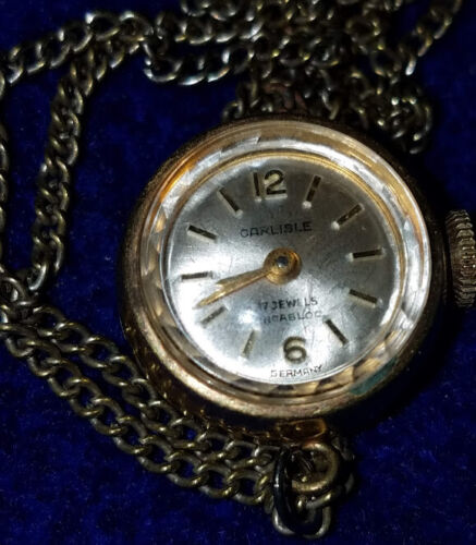 Old 17J Carisle Watch Necklace
