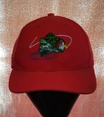 5a6bd62658a6e5 Vintage large mouth Bass FISHING embroidered Trucker Hat