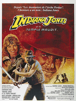 Indiana Jones And The Temple Of Doom  1984  Harrison Ford Movie Poster Print 6