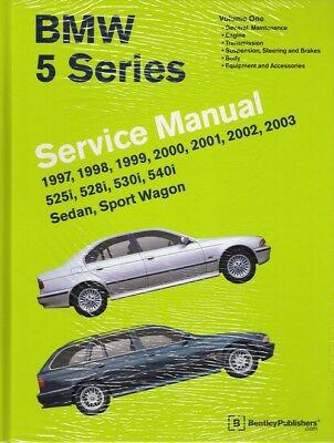 1997 - 2003 BMW 5 Series 525i 528i 530i 540i Repair Service Manual Book B503