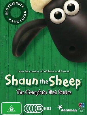 One of the many Shaun the Sheep DVDs