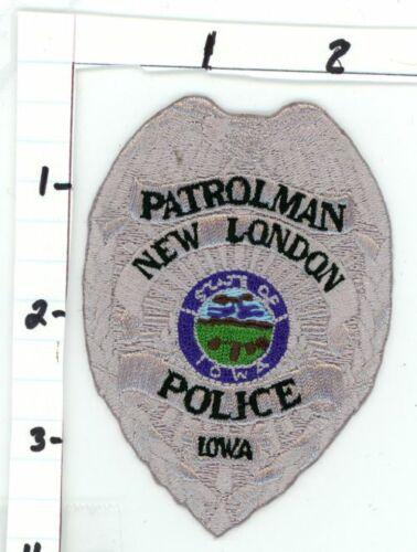 IOWA IA NEW LONDON POLICE PATROLMAN NEW PATCH SHERIFF