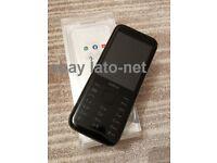 Nokia 8000 4G Black 512MB memory 4GB storage single sim unlocked very good kaios