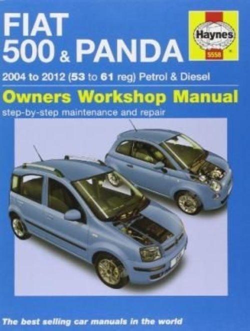 Haynes Manual 2004-12 Fiat 500 Panda 1.1 1.2 Petrol 1.3 Diesel Workshop Manual