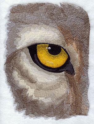 Embroidered Fleece Jacket - Eye of the Wolf J2237 Sizes S - XXL