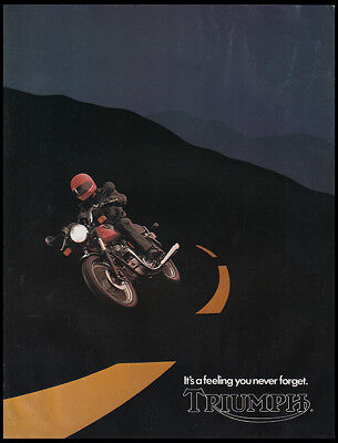 1982 TRIUMPH BONNEVILLE ROYAL EXECUTIVE 750cc MOTORCYCLE BROCHURE CATALOG