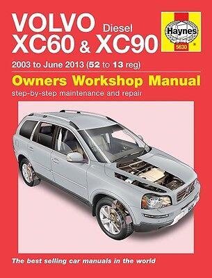 Haynes Manual 5630 Volvo XC60 & XC90 2.0 2.4 D5 SE Diesel 2003 - June 2013 NEW