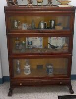 Antique Barrister's Stacking Bookcase