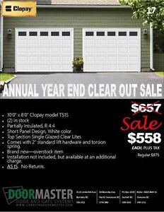 Garage Door Sale!! 10' x 8'