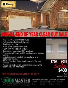 Garage Door on SALE!