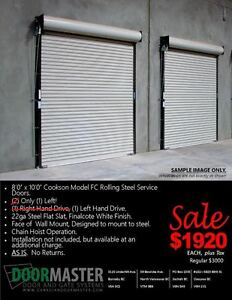 Rolling Steel Garage Doors Sale