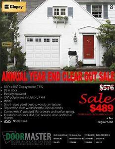 Garage Door Sale!!