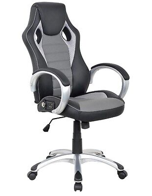 Used, X ROCKER Sound Office VIDEO GAMING CHAIR Bluetooth Wireless Audio Leather CHAIR for sale  Pontiac