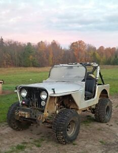 1983 Jeep CJ Convertible